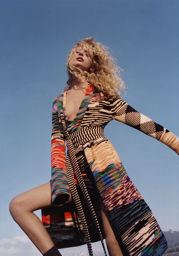 Frederikke Sofie stars in Missoni's fall-winter 2016 campaign