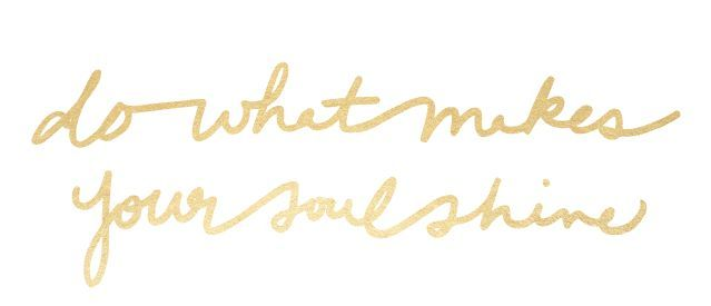 do what makes your soul shine  Twitter and Facebook covers - Twitter header images