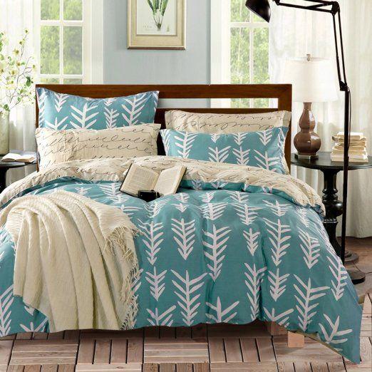 Stile rustico 100% cotone fiore modello Set di biancheria da letto(1Copripiumini…