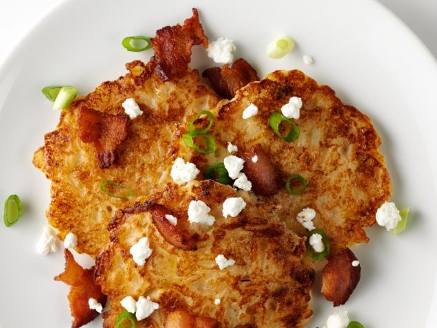 Sponsored: Rice Cakes with Goat Cheese and Bacon | Recipe