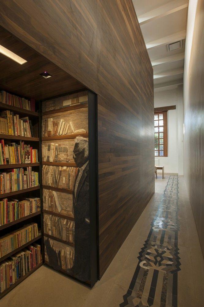 Biblioteca Personal Carlos Monsiváis / JSª Arquitectura Biblioteca Personal Carlos Monsiváis / JSª Arquitectura – ArchDaily México
