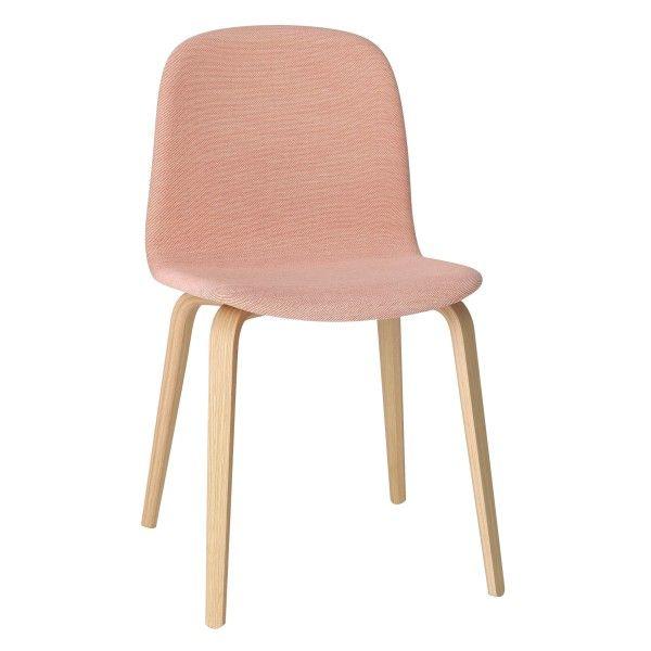 Visu Wood gestoffeerde stoel | Muuto