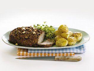 Postejen kan også laves med hakket kalve- og flæskekød. Ligeledes kan du frit variere fyldet.