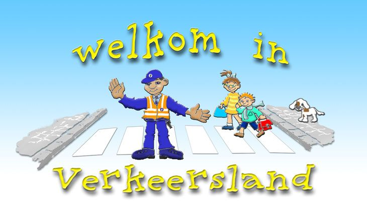 Welkom in Verkeersland! Kindersite rond veilig in het verkeer