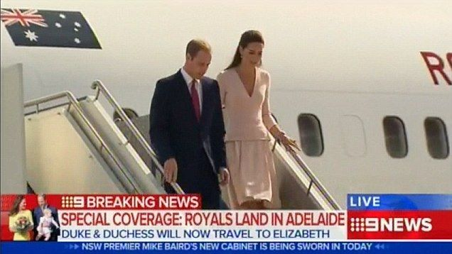Duke and Duchess learn to DJ: William and Kate hit the decks in Adelaide as they visit suburb named after the Queen | Mail Online