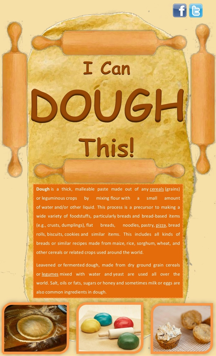 i-can-dough-this by Arya McLean via Slideshare
