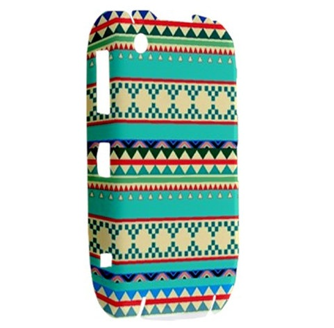 NEW Geek Aztec Pattern BlackBerry Curve 8520 9300 Hardshell Case Cover BB Curve 8520 9300 Case - Available for other type of BB