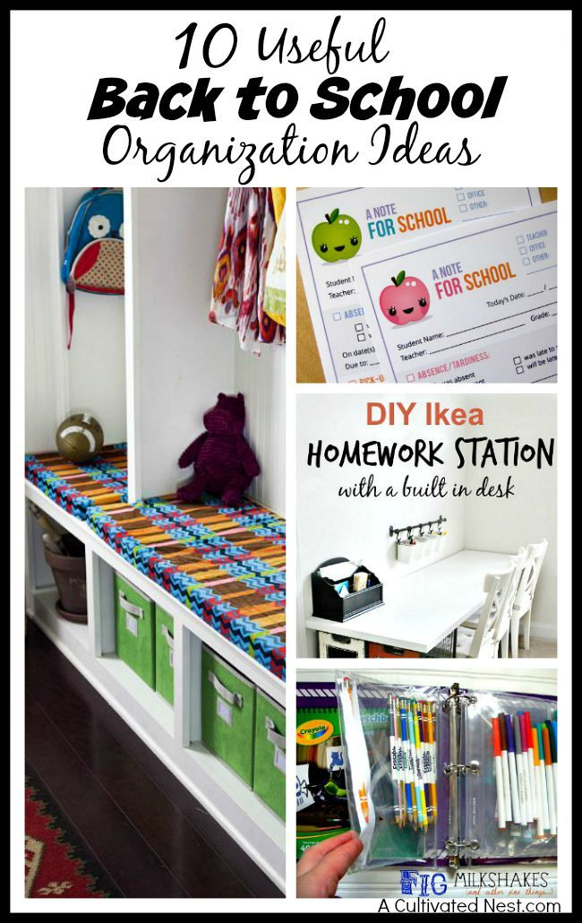 17 best images about back to school organization on pinterest first day of school family - Back to school organization ...