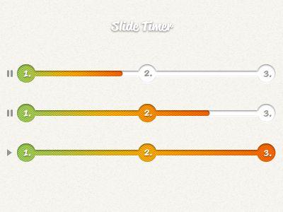 Slide progress bar