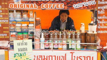 Street Cafe at Chiangmai Thailand – Stock Editorial Photo © photostocknatonny #58397197