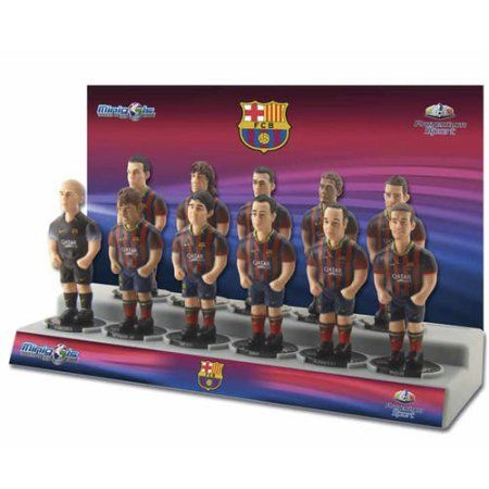 Minigols F.C. Barcelona Team Figures (11 Pack), Multicolor