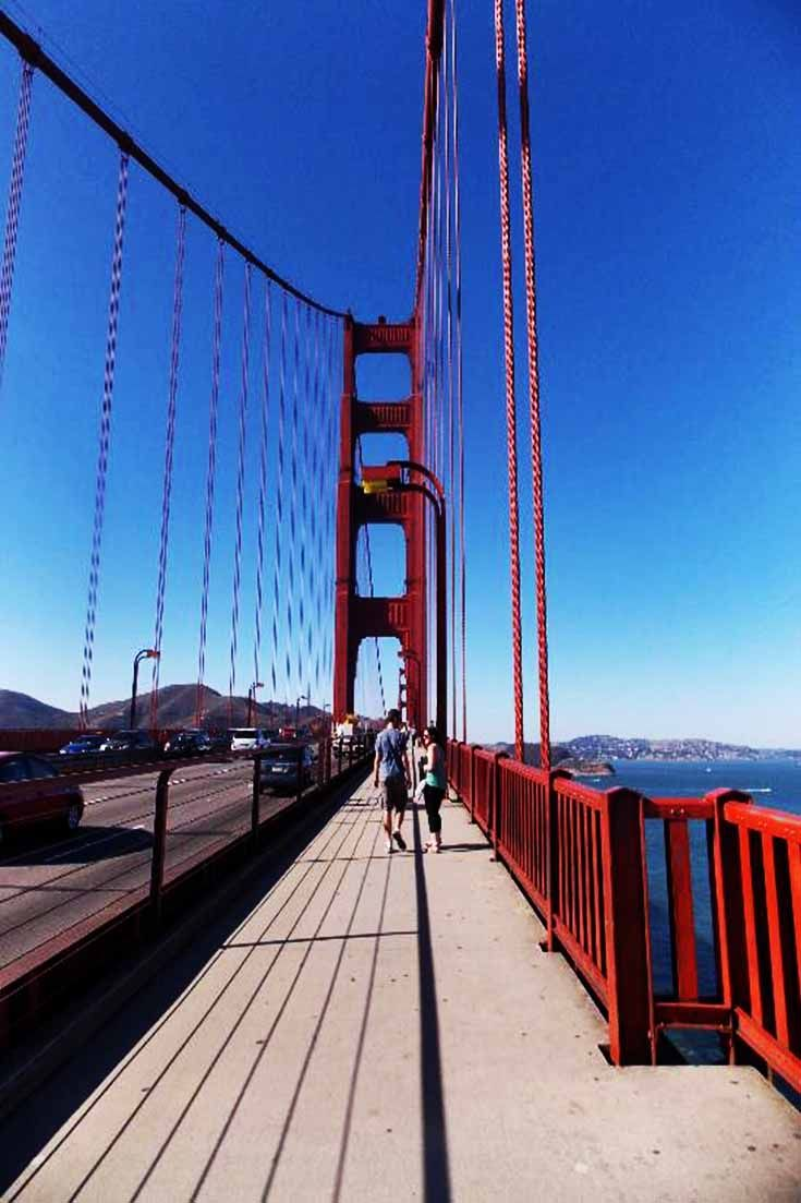 How will you experience the Golden Gate