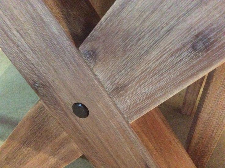 Rockhampton solid acacia timber base