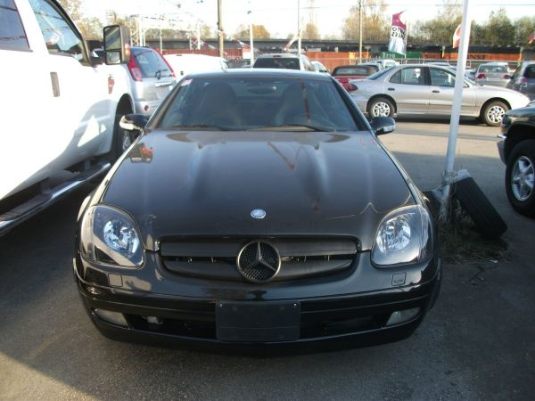 2002 mercedes slk 3.2 $12900 van leather auto
