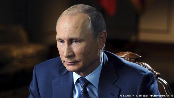 Russland Putin TV Interview Militär Syrien
