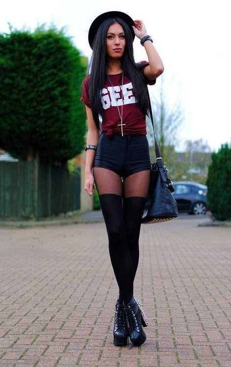 Girl you got style! -#rock #chic #outfit