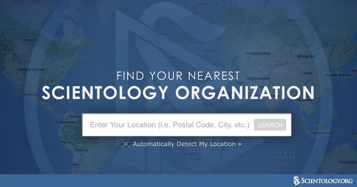Scientology can enhance and improve your life for the better. Spiritually. Personally. Professionally. Click here to find a Church or Organization in your area: http://qoo.ly/83mib/0
