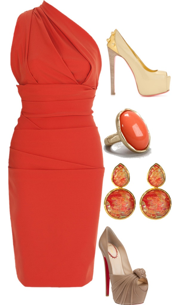 """coral"" by cmscruggs on Polyvore"