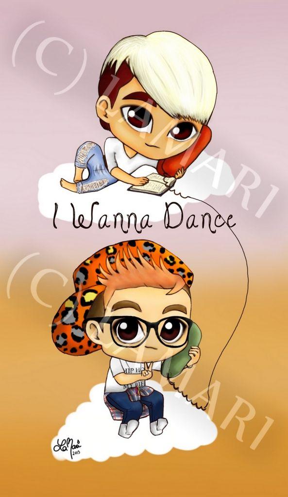 Donghae & Eunhyuk - I Wanna Dance fanart.