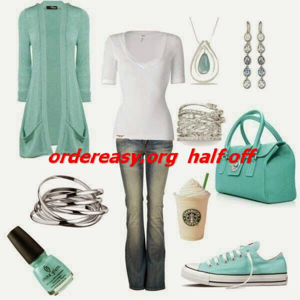 I just got tiffany blue converse :D     site full of 52% off #Womens #converse Shoes
