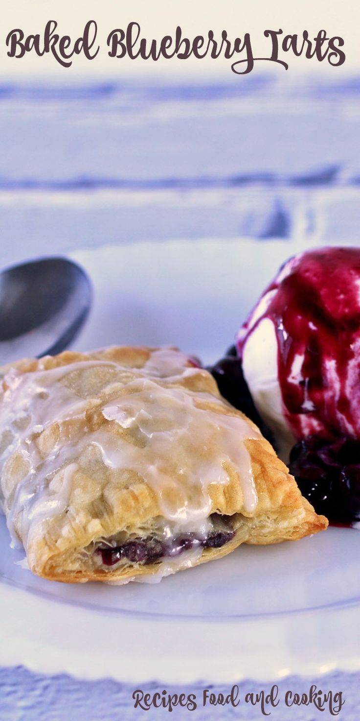Baked Blueberry Tarts This Blueberry Turnovers is a time saving dessert recipe. It is great anytime but a real time saver when you need something fast and easy.