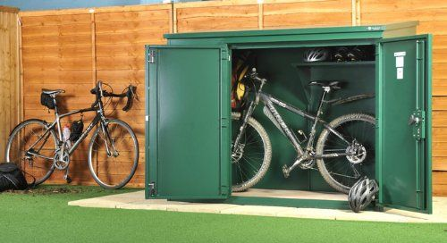 High Security Bike Storage Unit - The Annexe Bike Shed from Asgard (Including Installation)