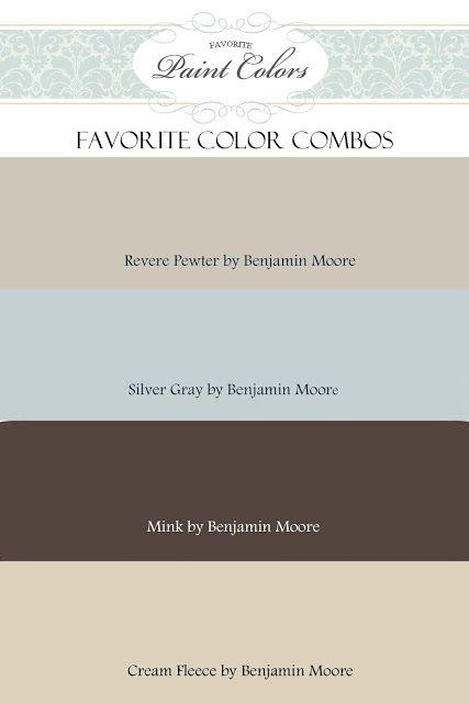 Favorite Paint Colors: color combinations, for bathroom