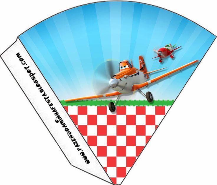 Aviones de Disney: Imprimibles Gratuitos para Fiestas.