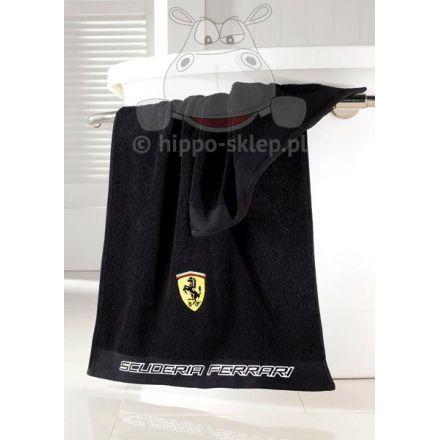 Oryginal Ferrari bath towel black / Oryginalny ręcznik Ferrari - czarny #ferrari