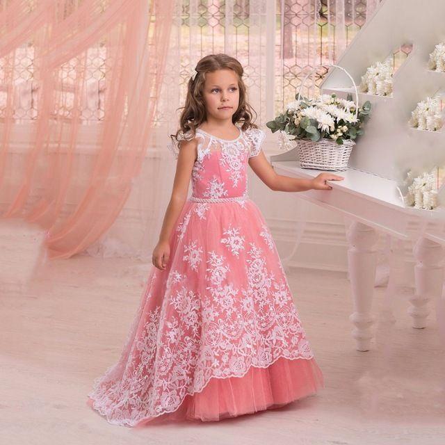 66 best flower girl dresses images on Pinterest   Holy communion ...