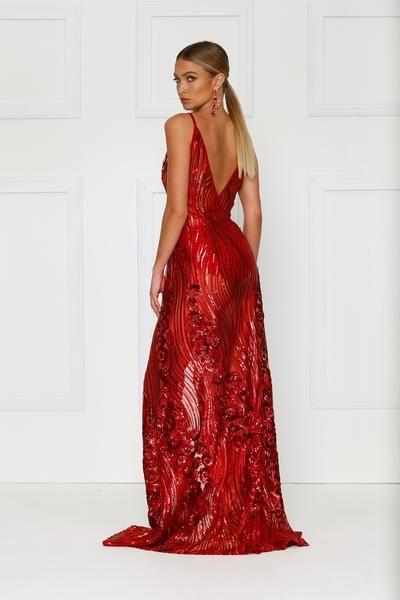 Lacrecia - Red - Brides Selection