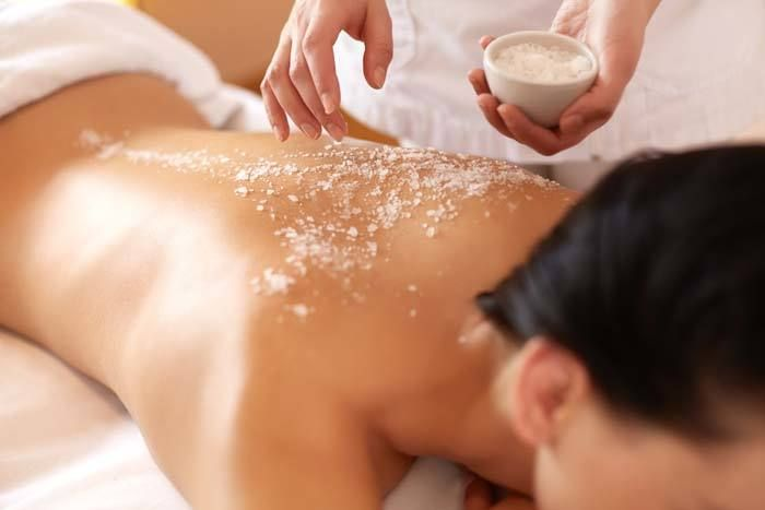 From sugar or salt scrubs to body masks and wraps, you can provide your clients luxurious spa services even if you don't have a wet room.