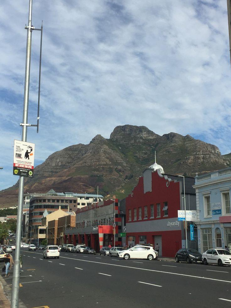 #capetown #citycentre Roeland St, Gardens, Cape Town #cityvarsity