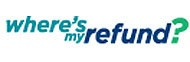 "Visit ""Where's My Refund"" at IRS.gov to check the status of your federal tax refund. Remember, www.irs.gov is the official IRS website."