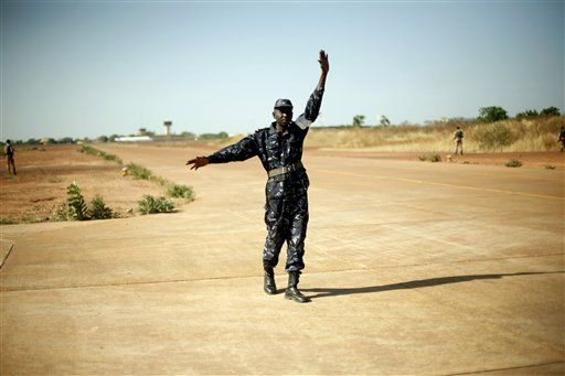 Mali is about to have a refugee crisis, reports this article.