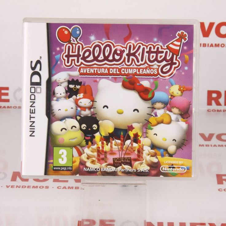 HELLO KITTY DS de segunda mano E271648# Juego Hello Kitty# De segunda mano# Hello Kitty Nintendo ds