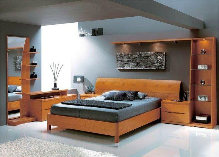 Desain Kamar tidur nyaman dan anggun