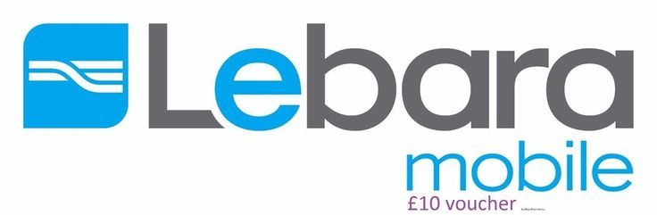 £10 LEBARA MOBILE TOPUP VOUCHER LEBARA MOBILE TOP-UP LEBARA Pay As You Go UK