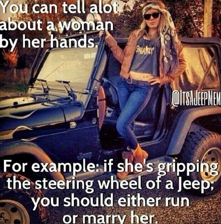 Oh so true. #jeeplife