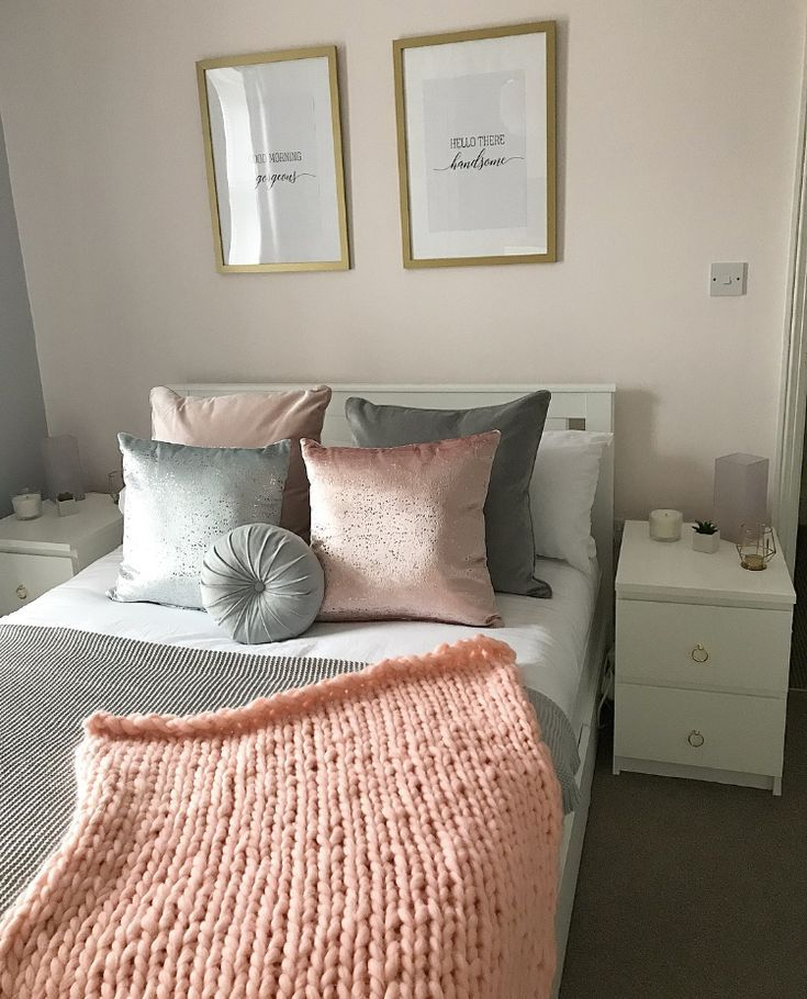 Pink Gold And Grey Bedroom White And Gold Bedroom Tumblr Room