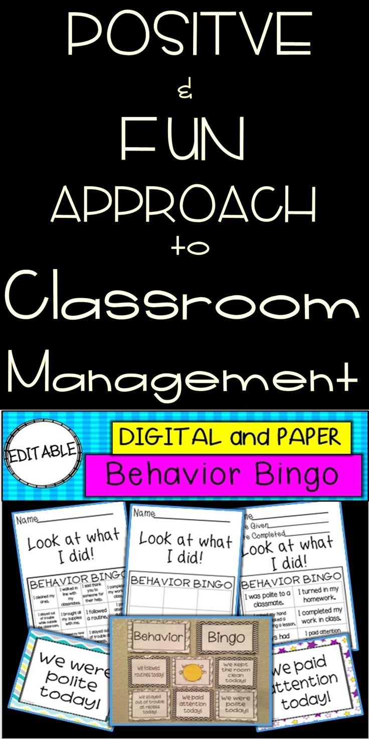 Minimalist Classroom Management ~ Best positive reinforcement ideas on pinterest