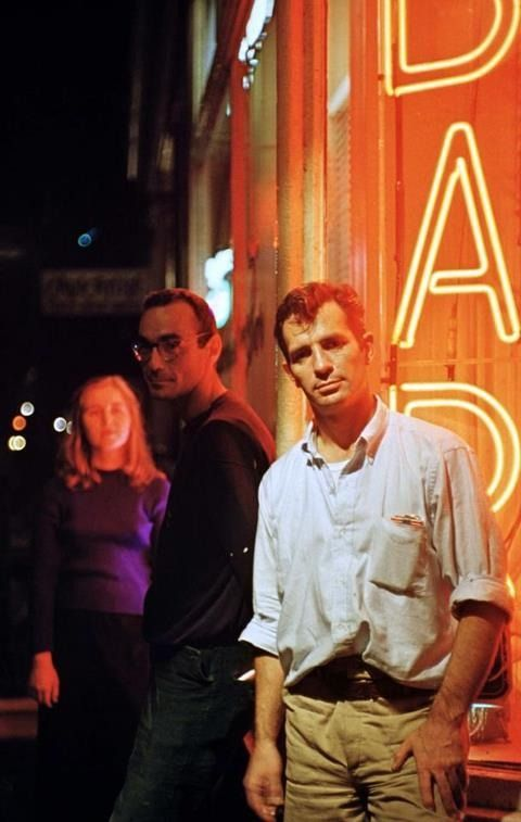 fuckyeahkerouac: Jack Kerouac in Greenwich Village, October 1958. By Jerry Yulsam.