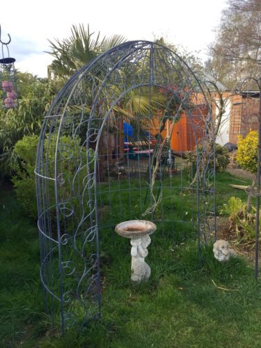 #Substantial Heavy #bespoke #galvanised Steel Garden Archway/arbour, View  More On
