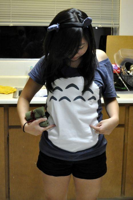 camiseta pancha totoro