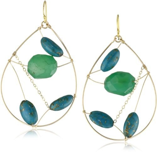 """Wendy Mink """"Matrix"""" Turquoise Teardrop Wire Earrings http://www.endless.com/Wendy-Mink-Turquoise-Teardrop-Earrings/dp/B007SS6S44/ref=cm_sw_o_pt_dpWire Earrings, Turquois Teardrop, Wendy Mink, Jewelry, Mink Matrix, Turquoise Teardrop, Teardrop Wire"""