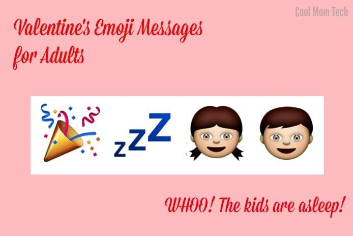 Cool Mom Tech top post: Funny emoji messages for your sweetheart on Valentine's Day