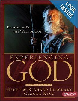 Experiencing God: Knowing and Doing the Will of God: Henry Blackaby, Richard Blackaby, Claude King: 9781415858387: Amazon.com: Books
