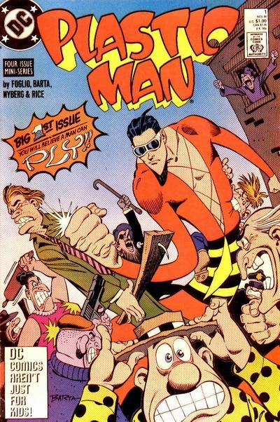 plastic man   Plastic Man Vol 3 - DC Comics Database