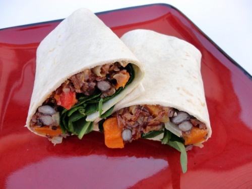 Black Bean & Butternut Squash Burritos. Best. Burritos. Ever.