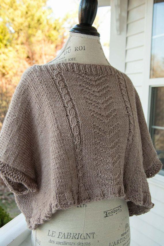 Loom Knit Topper, Poncho, Cape Pattern. Stylish loom knitting patterns!